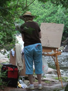 painting-at-ritchie-falls-2014