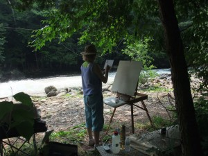 painting-at-wildwater-reserve