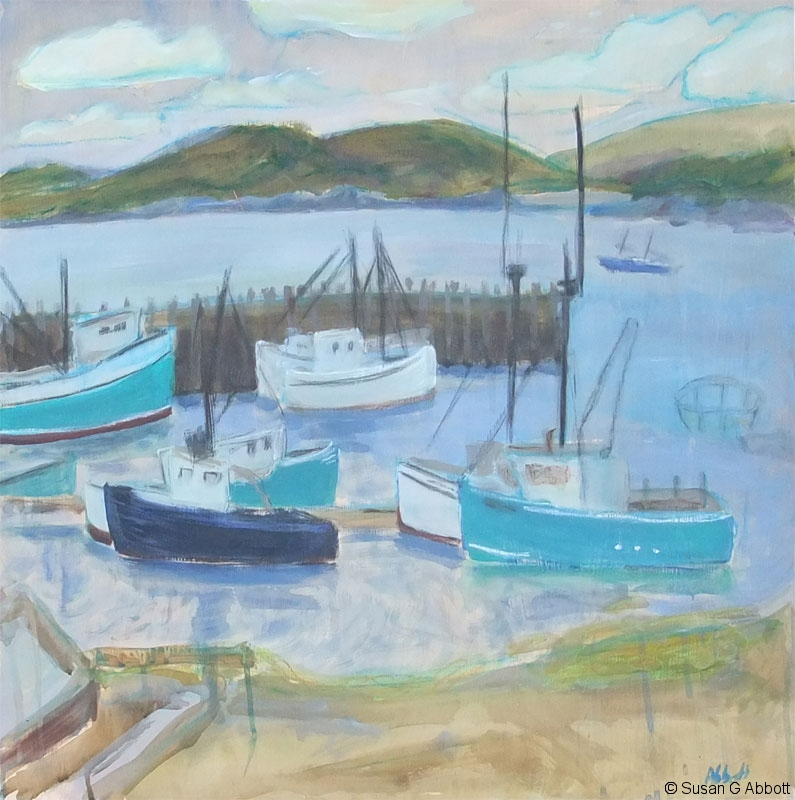 © 2008 Susan G Abbott - Fishing Boats