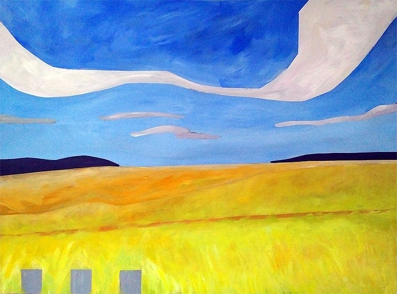 © 2015 Susan G Abbott - Yellow Fields