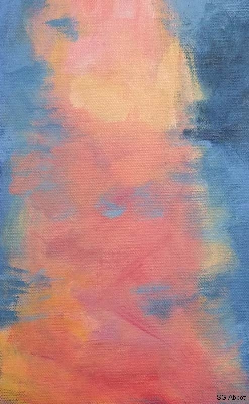 © 2017 Susan G Abbott - Sunset from Memquisit - detail1