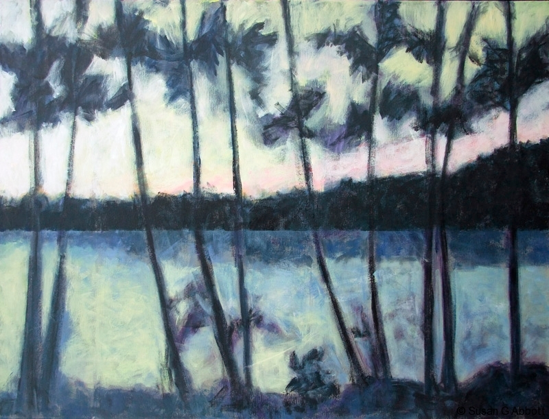 © 2015 Susan G Abbott - Oddly Tropical Northern Landscape